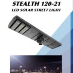 SLI Stealth 120 LED Solar Street Light